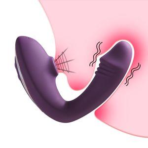 10 Speep Vagina Vibrator Nipple Sucking Clitoris Stimulation Orgasm Sucker Vibrating Dildo Erotic Adults Sex Toys for Women Shop 210329