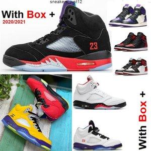 Lo que 5S 2021 New Bel Bel Alternate Grape 5 Top Black 1S High Royal Toe 1 Corte Púrpura Baloncesto Baloncesto Zapatillas de deporte