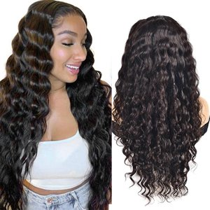 Lace Wigs ZZY Loose Deep Wave 13x4 Front Human Hair 150% Density Pre Plucked With Baby Non-Remy Brazilian Wig