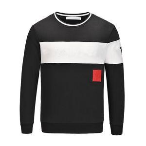Стулки белый дизайн 2021 дизайнерские толстовки мода мужчины женщины повседневная куртка мужская осень капюшона с капюшоном свободная толстовка 3 цвета