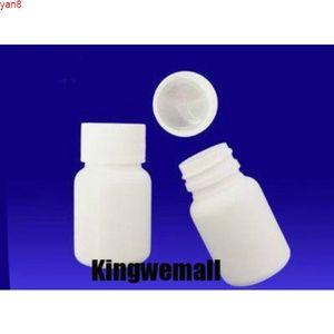 300 adet / grup Kapasiteli 50 ML Plastik PE Şişe Tabletler için Kapsül Hapları İlaç Tıp PaketlemeGiyiz Kalitesi