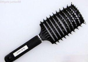 Preto javali esporte escova de cabelo melhor para impedir todos os tipos de cabelo Vented Professional por DHL