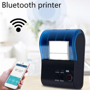 Thermal Printer 57mm Label Handheld Portable Bluetooth 1500Mah For Android And (EU Plug) Printers