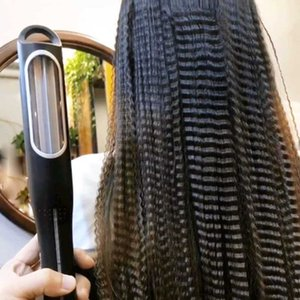 Automatic corn splint hair curler without damaging