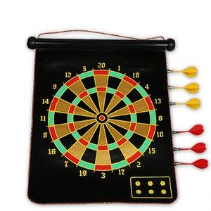 Alta Qualidade 15 polegadas Dart Dart Board Darts placa de dardos de agulha para jogo indoor