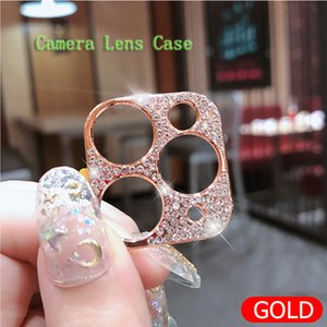 Protectores de lentes de cámara para iPhone 12 12 Pro Max Shiny Bling Diamond Funda de lente para iPhone 12 Mini