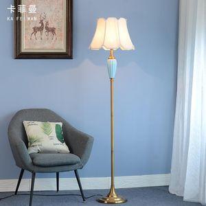 Floor Lamps Modern Ceramic Lamp Beside For Living Room Simple Sofa Bedroom Study Light Luxury Table