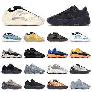 2020 플랫폼 (700) 카니 예 웨스트 남성 신발 Vanta를 Alvah Azael 반사 380 미스트 외국인 솔리드 그레이 남성 여성 스포츠 운동화 트레이너를 실행