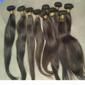 Big Sale Mix lengths Virgin Cambodian Straight Hair 4 bundles deal double wefts no fillers 8A Perfect Ladies extensions