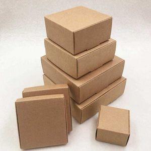 Paper Products 24pcs Multi Size Soap Kraft Gift Box Package With Clear Pvc Window Candy Favors Arts&krafts Display K jllsxU TKZ5