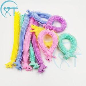 toy Cartoon cute animal unicorn marala joy decompress vent pull noodle rope