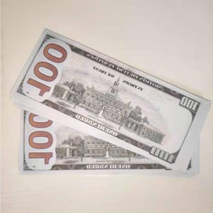 100 Collection Banknote Dollar Sales Movie Prop Hot Dollars Bar Party Fake New Money 13 Games US Gifts Soaql