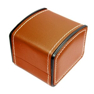 Luxury Watch Hard Box Gift Boxes Leather with Pillow Jewelry Watch Packaging For Bangle WristWatch Box DLH149 2 Q2