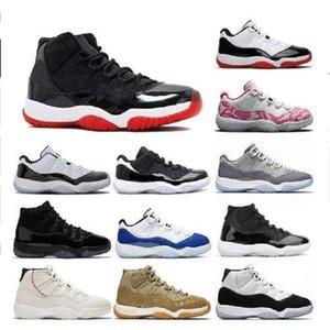 Erkekler Basketbol Ayakkabıları 11 11 S yetiştirilen Concord Metalik Gümüş Turuncu Trance Kadın Erkek Eğitmenler Spor Sneaker Yeni