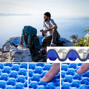 Outdoor Pads Foldable Dual Camping Mat Seat Moisture Proof Xpe Cushion Portable Waterproof Foam Yoga Chair Picnic Beach Pad