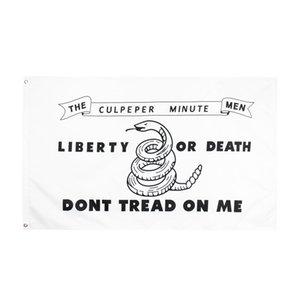 Treten Sie nicht auf mich auf Ich Liberty oder Death Gadsden Flagge DesignsDirect Factory Wholesale Retail 3x5FTs