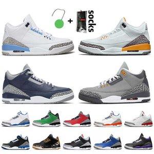 2021 جديد بارد رمادي jumpan رجل كرة السلة أحذية أعلى جودة unc الليزر البرتقالي منتصف الليل البحرية الاسمنت كاترينا الأشعة تحت الحمراء 23 المدربين حذاء رياضة 6J98