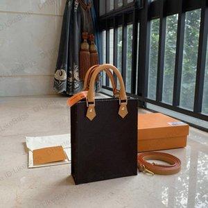 Сумка через Crossbober с оригинальной коробкой PETIT SAC PLAT POCHETTE M69846 роскошный дизайнер женские сумки сумочка из натуральной кожи сцепления кошелек мессенджер плеча Tote сумки