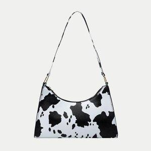 Abendtaschen 2021 Sommer Baguette Schulter für Frauen Hohe Qualität Zebra Unterarm Handtaschen PU-Leder Leopard Armpit Geldbörse Tasche