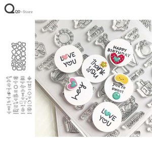 Painting Supplies Cute Pattern Stamp And Dies Metal Cutting 2021 Handmade Tools DIY Card Make Mould Model Craft Decoration Scrapbooking
