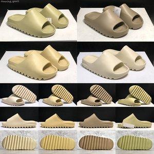Pantoufles cool chaussures désert sable résine résine de terre brun grutte hommes diapositive mode mousse de mousse triple noire ararat orange sandles orange