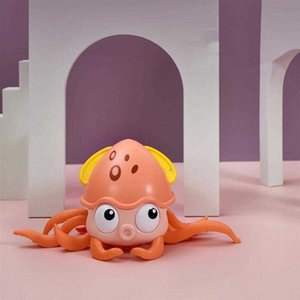1pc Shower Baby Bathing Plaything Crawling Octopus Toy