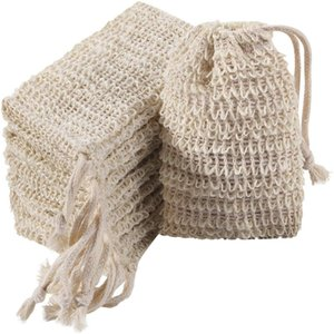 تقشير شبكة الصابون توفير حقيبة حمام فرش الحمام رغوة أكياس رغوة الطبيعية القطن والكتان مصنع الألياف dhl الحرة