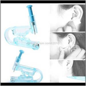 Painless Disposable Healthy Asepsis Ear Piercing Gun Pierce Tool Blue Kit No Infection No Inflammation Ear Piercing Gun Tool 0081 Pazj Tmend