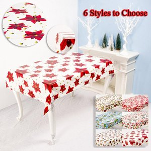 Disposable Table Covers Tablecloth Waterproof Oil Proof Kitchen Dining Cloth Rectangle Cover Oilproof Christmas Decor