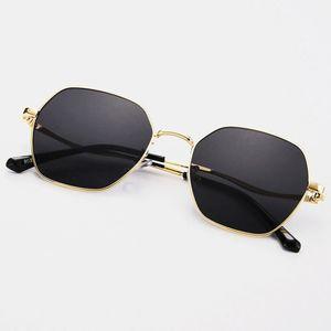 Women Irregular Shape Polygon UV Protection Fashion Sunglasses
