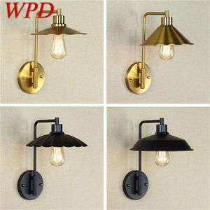 Wall Lamps WPD Creative Light Sconces LED Retro Design Loft Fixtures Decorative For Home Corridor