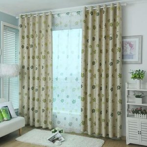 Curtain & Drapes Modern Blackout Curtains For Living Room Bedroom Stitching Sunshade Linen Window Treatments Home Decor