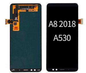 OLED Display para Samsung Galaxy A8 A530 A530F Screen Touch Painéis Digitizer Montagem Substituição sem quadro