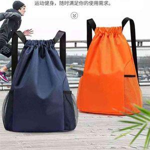 TikToK Letters Printed Unisex Pocket Shoulder Pack Drawstring Bags Tiktok Fashion Travel Backpack Large Capacity Women Men Sports Fitness Bags G4T6GF9