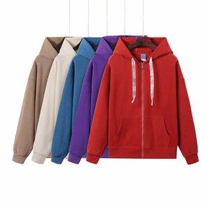 2021Running Giacche Cappotto Autunno Inverno Zipper Zipper con cappuccio Sportswear Tech Fleece Windrunneor Fashion Tempo libero Sport Fitness Giacca