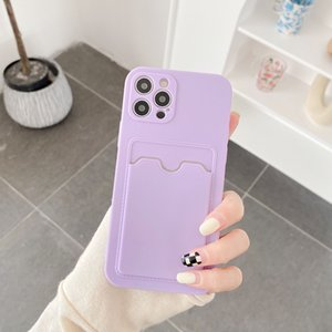 Light Purple Cases with Holder Compatible for iPhone 12 Pro Soft Shockproof Phone Cover Case 97187