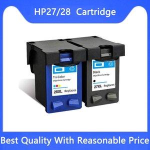 Ink Cartridges 27 28 Compatible Cartridge For Deskjet 3320 3322 3420 3425 3450 3520 3550 3650 3650v 3651 3740 3744 3745 3747 Printer