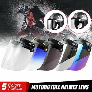 Motorcycle Helmets Electric Helmet Lens Goggles Windproof Windshield For Flip Up Down C44