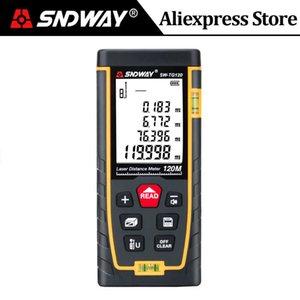 SNDWAY Laser Rangefinder 120m 100m 70m 50m 40m Digital Laser Distance Meter laser Range Finder Tape Distance Measurer Tools Test 210719