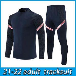21 22 adult Soccer tracksuit jacket PERISIC RAKITIC SRNA KOVACIC 2021 men Football training suit
