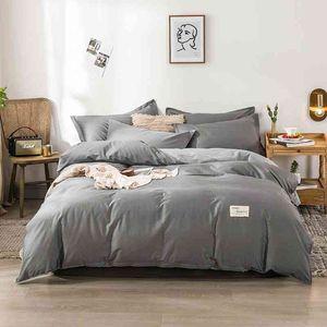 Cotton quilt cover cotton single bed sheet three 1.8m bedding four piece set