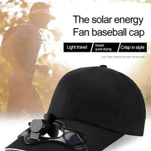 Hava Soğutma Fanı Balıkçılık Yaz Spor Açık Şapka Kap Güneş Güneş Enerjisi Ile Serin Bisiklet Enerji Soğutucu Soğutucu Araba Hayranları
