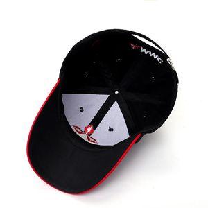 Best Spring Wholesale 2020 New Fashion 3D Mitsubishi Hat Cap Car logo MOTO GP Racing F1 Baseball Cap Hat Adjustable Casual Trucket Hat