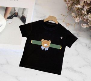 NewArrival 2021 Children Polo t Shirt Designer T-shirts Kids Short sleeves Baby shirts Boys Pullover Tops Embroidery Girl Cotton black White