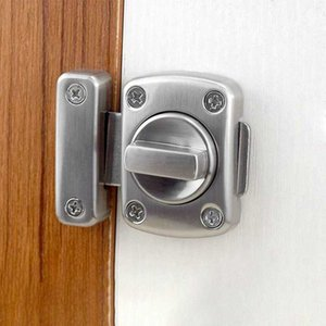 WC Vacant Engaged Door Lock Toilet Shower cubicles & Bathroom Turn Twist Bolt Privacy Catch Latch