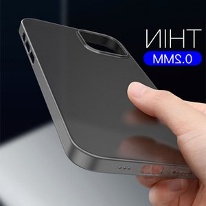 Colorful 0.3mm Ultra Thin Matte Case For 13 12 mini 11 XR X XS Pro Max 6 7 8 SE Translucent Hard Frosted Phone Cover