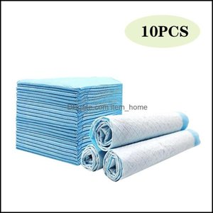 Supplies Home & Garden10Ps Lot Pet Diapers Super Absorbent Dog Training Urine Pad For Puppy Cleaning Deodorant Pee Supplie Apparel Drop Deli