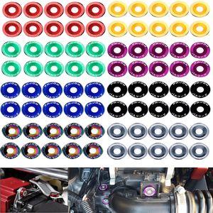 Fender Washers Bumper Washer Lisence Plate Bolts Dress Up Kits for Honda Civic EK EP AP DC2 DC5 Password JDM