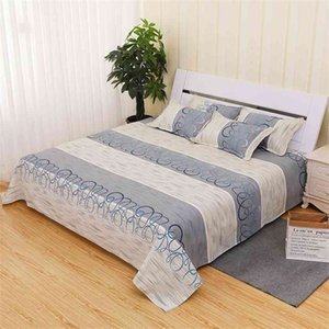 Pillow Case Traditional old coarse cloth bed sheet pillow case one three piece set thickening encryptionPillow Q7YB