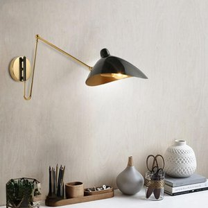 Wall Lamps Serge Lamp For Household, Restaurant, Bedside Table, Walkway And Modern Duck's Beak Long Arm Folding Iron